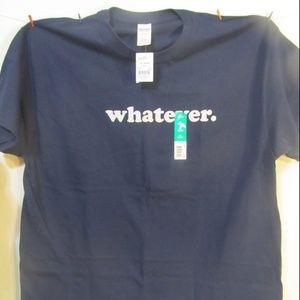 whatever NWT dark blue t-shirt